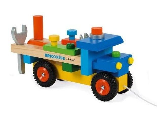 camion-de-bricolage-bois BRICOKIDS