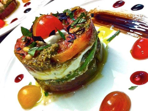 dish dessert Cuq en Terrasses restaurant