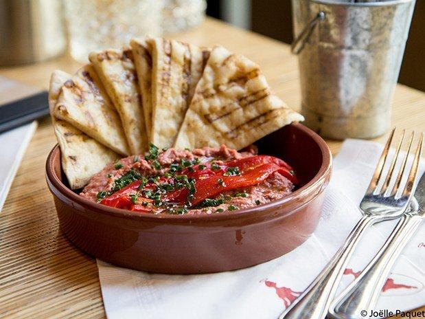 Hummus aux betteraves