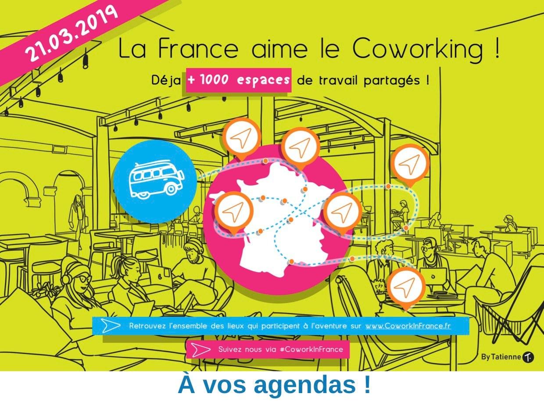 LA FRANCE AIME LE COWORKING