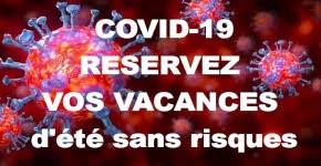 vacances sans risques COVID-19
