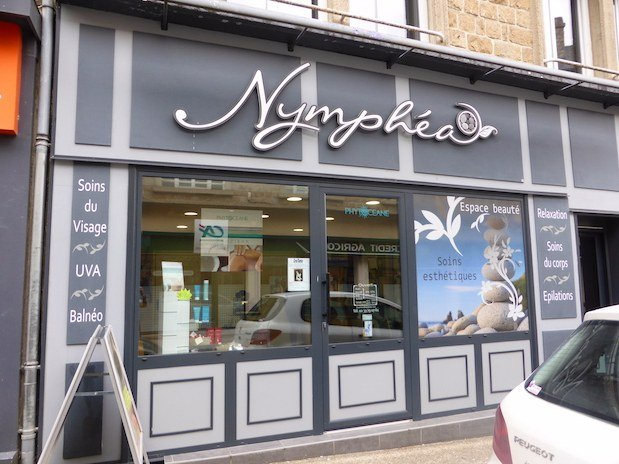 institut de beauté Nymphéa Avranches façade