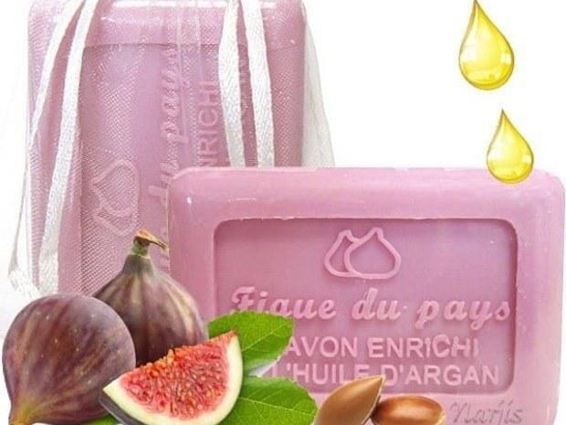 savon naturel figues du pays - huile d'argan - les trésors de Valérie - Moselle
