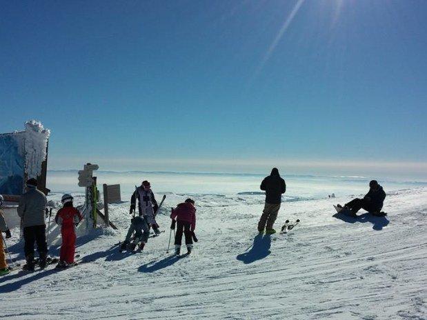 Haut des Pistes ski Lioran