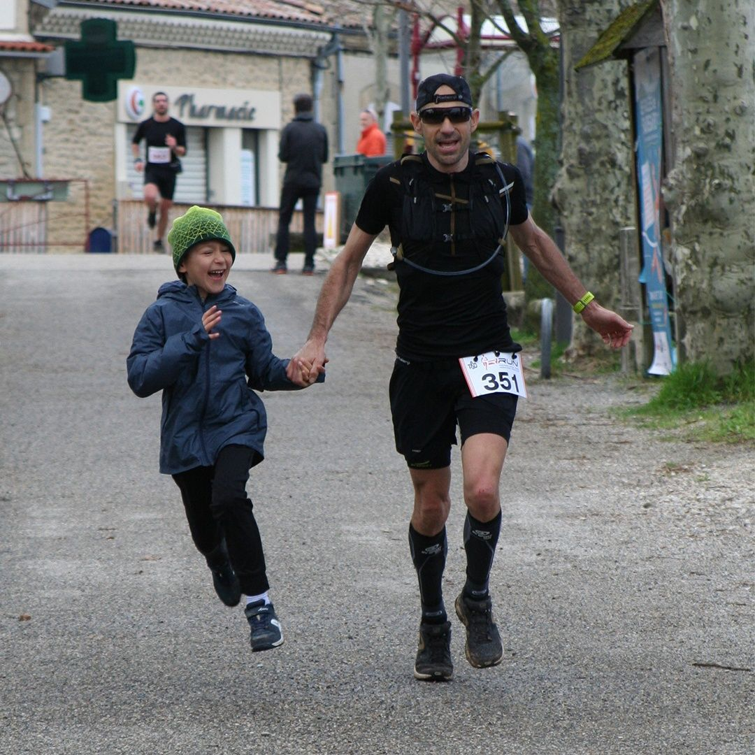 Nico et Amaury - Valloire - Trail