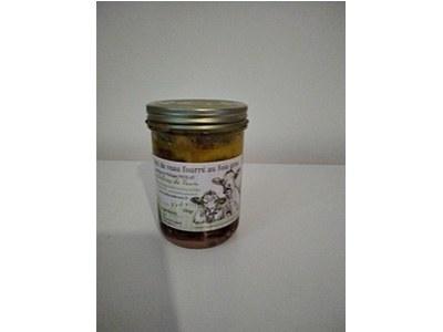 Rôti de veau fourré au foie gras