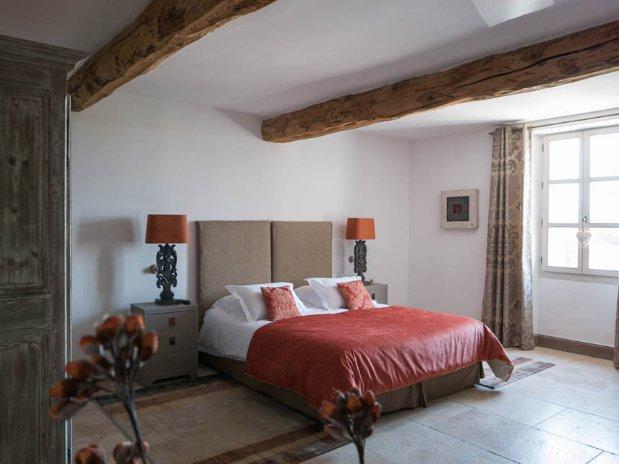 chambre double maison hôtes provence luxe