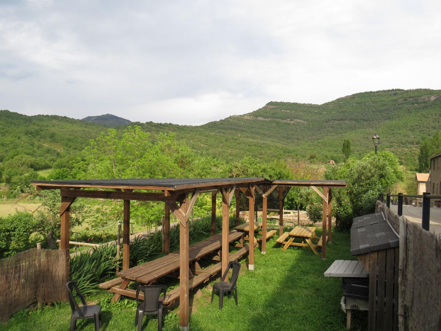 Terrasse de la Mallata