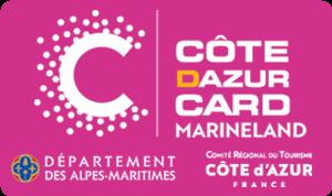 Côte d'Azur Card 3 jours + Marineland