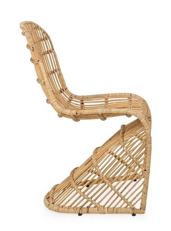 chaise zelai rotin 3