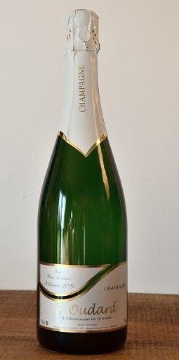 Champagne Milésime 2012 Blanc de Blanc Francois Oudard