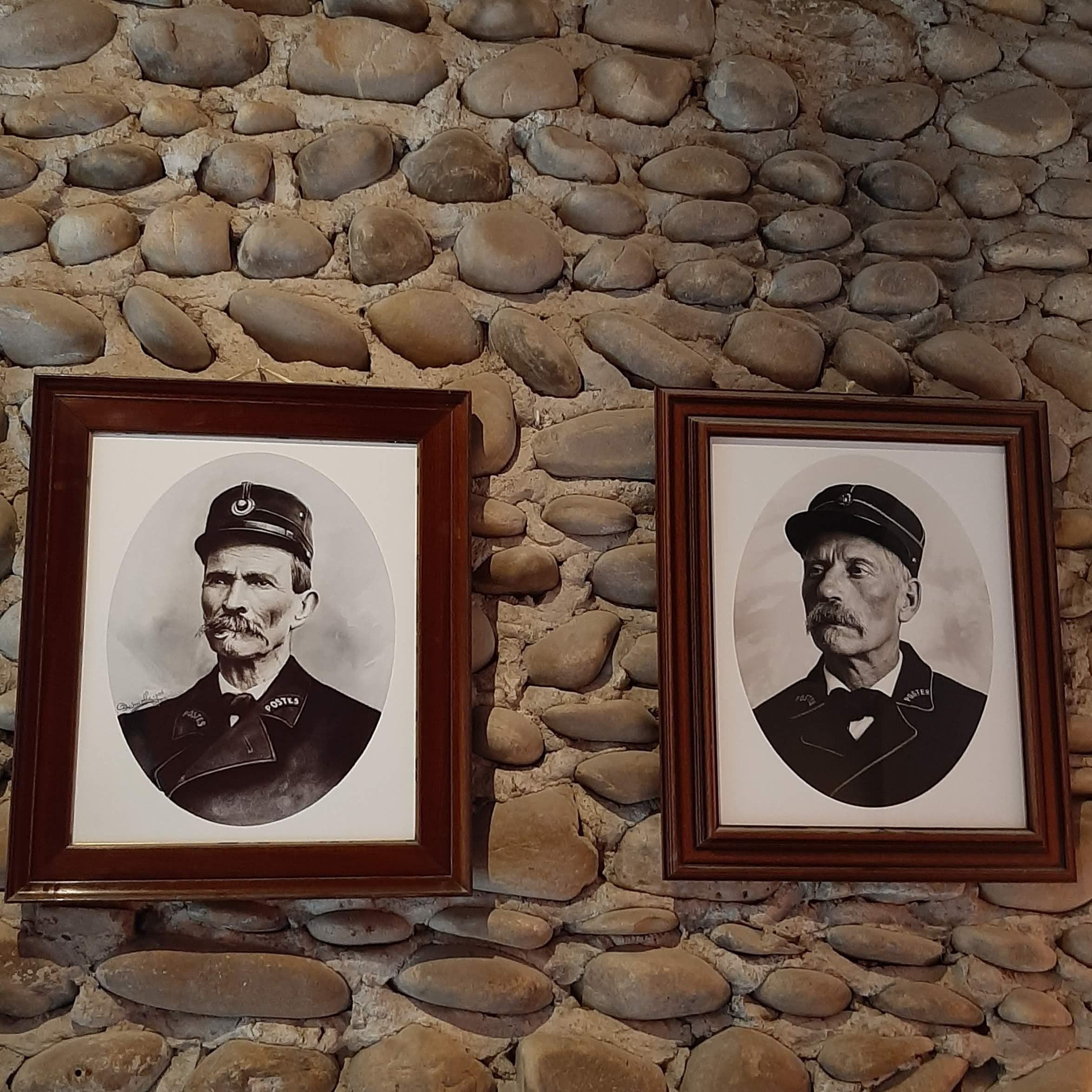 Portrait Facteurs Cheval et Jacques Gamblin