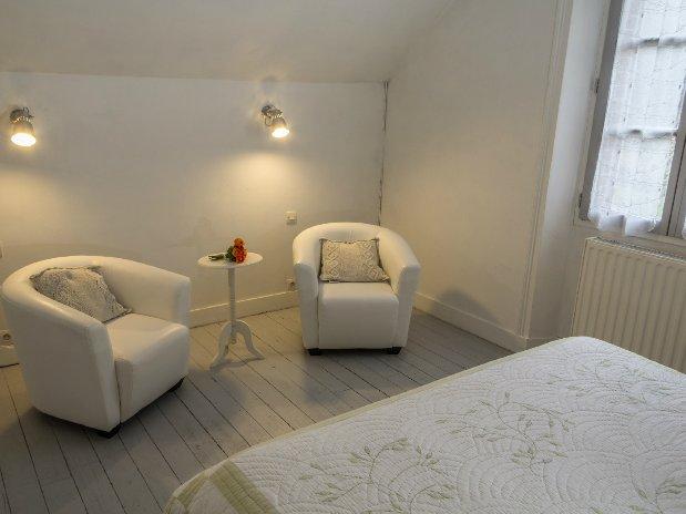 chambre double 1er étage gîte