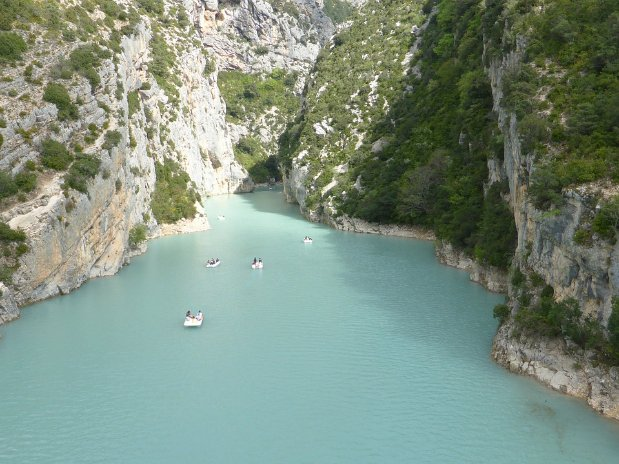 castellane - gorges du verdon - france