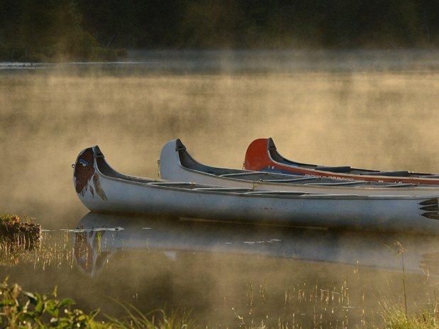 pourvoirie du lac blanc saint alexis des monts activites guidees