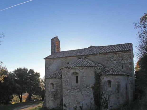 Chapelle romane de Gigondas - Chapelle Saint Cosme et Saint Damien, Gigondas