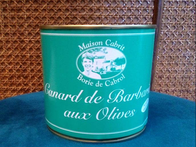 Merveilles et Cie canard aux olives