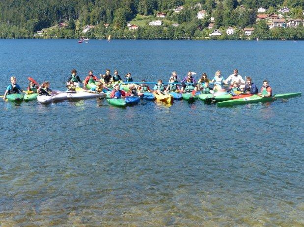 kayak gerardmer camping au mica vosges