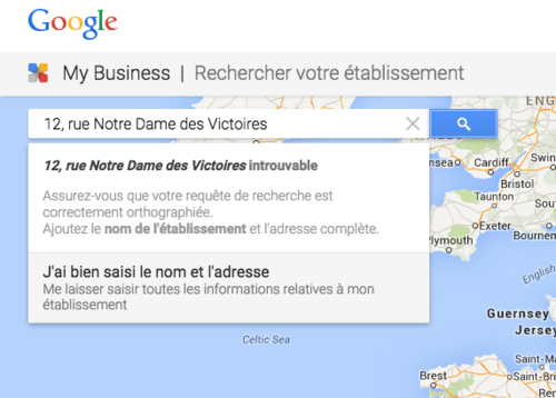 Google my business référencement