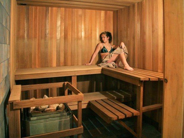 Pourvoirie du lac blanc saint alexis des monts sauna et spa