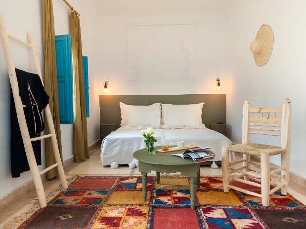 Double or Twin Superior Room (double or twin beds) of Riad ...