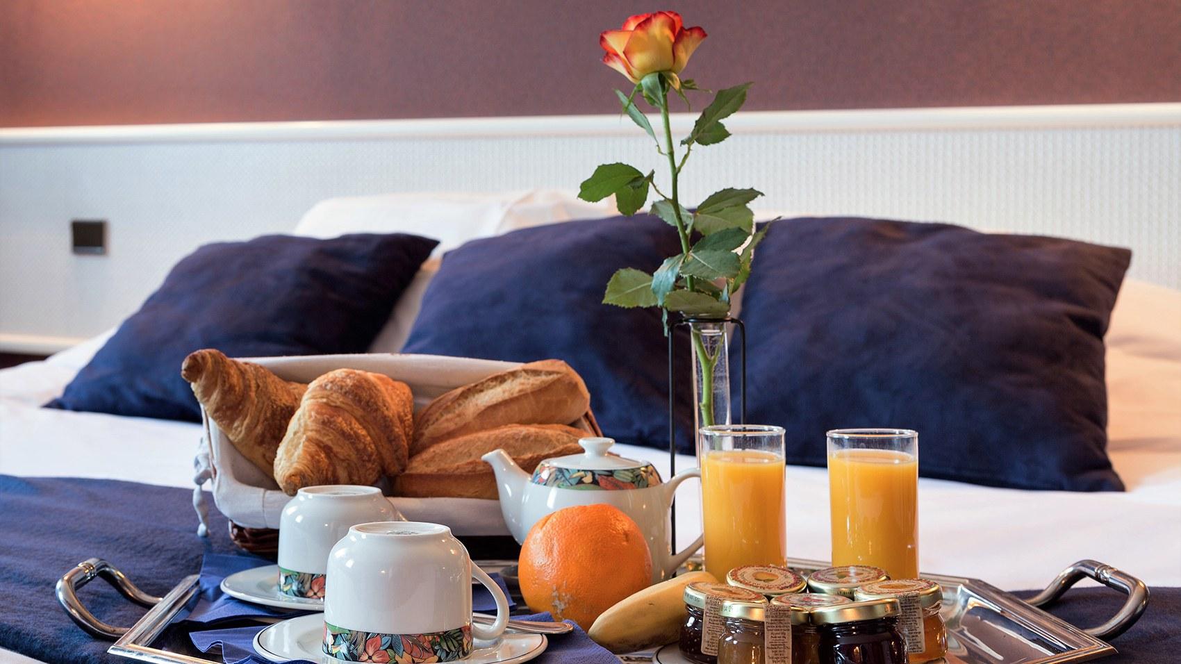 Petit déjeuner Hotel Clisson