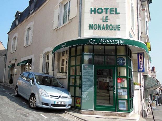 hotel-restaurant-blois-le-monarque-façade