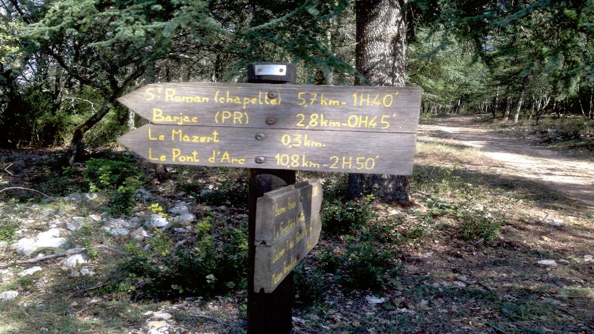 randonnée camping gard ardeche