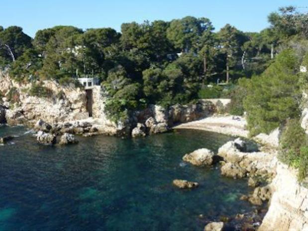 Sentier du Littoral Cap d'Antibes Cote d'Azur