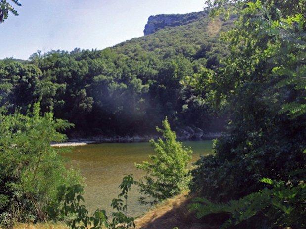 rivière camping Ardèche