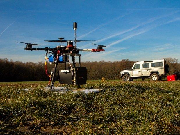 Drone équipé LiDAR 28
