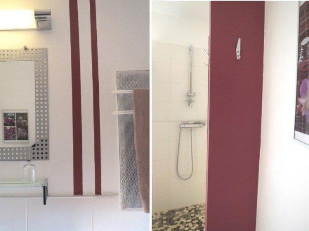 Gîte Les Hauts Issensac-salle de bain