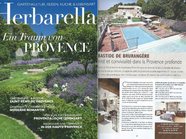 Herbarella Provence Bastide de Brurangère