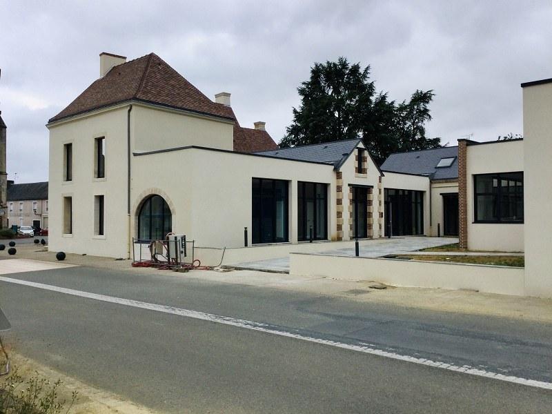 Menuiseries sur mesure en Sarthe - Centre social Marolles-les-Braults