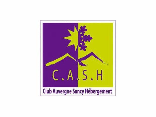 logo cash - camping poutie - la bourboule
