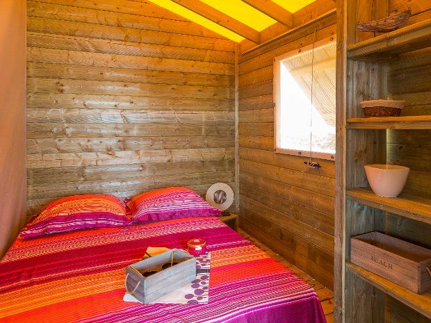 Chambre parents ecolodge
