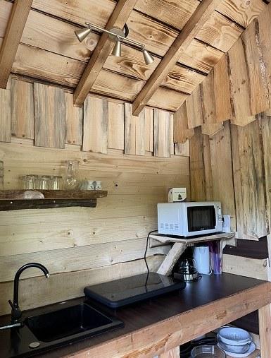 Cusine cabane hérons site web