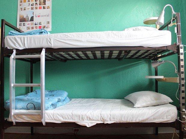 dorm à l'Auberge Gîte du Plateau Mont-Royal
