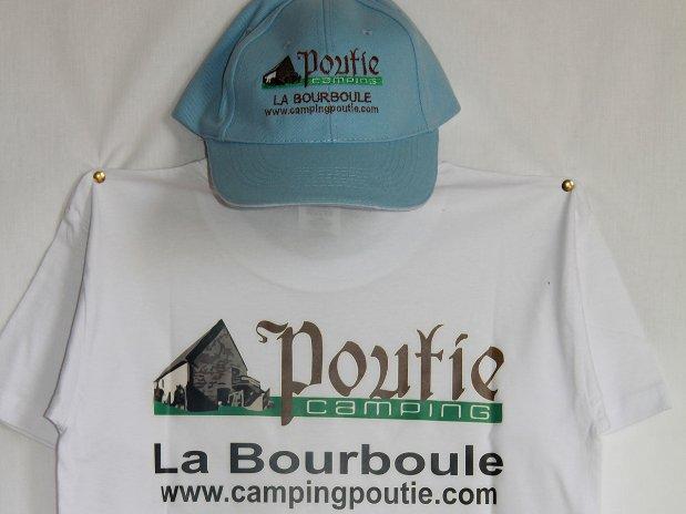 tshirts - camping poutie - la bourboule