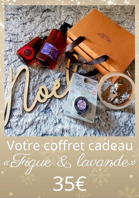 Coffret Figue et Lavande.