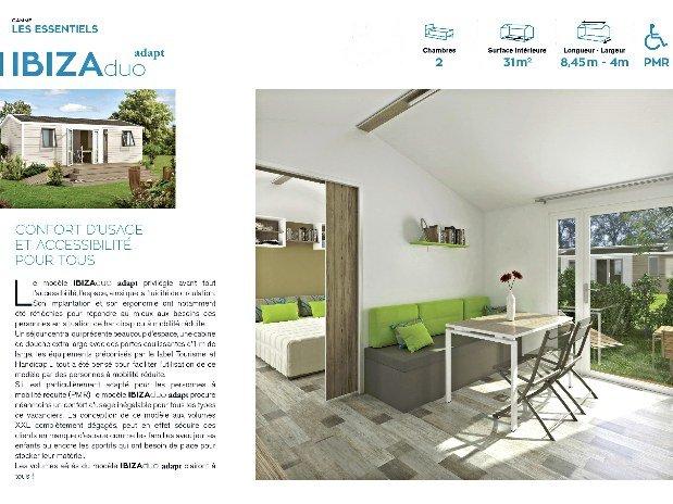 Mobil-home Grand Confort PMR 31m2