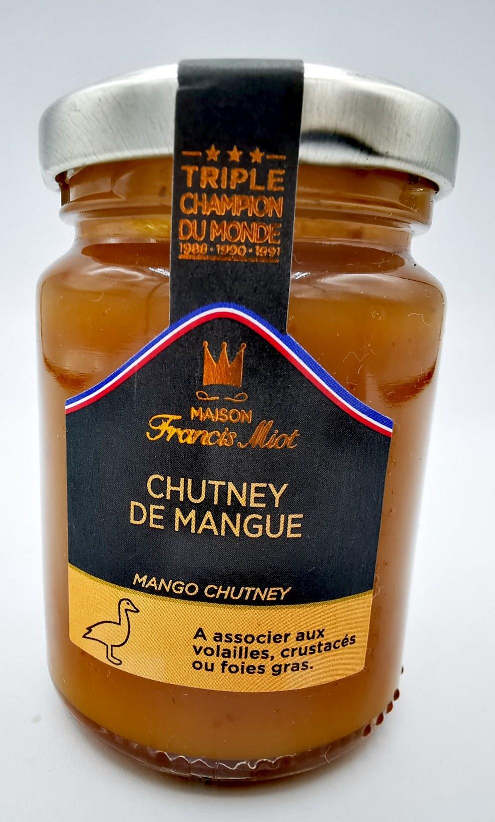 Chutney de mangue - Francis Miot - chutney - vallée d'aspe - saveurs associées