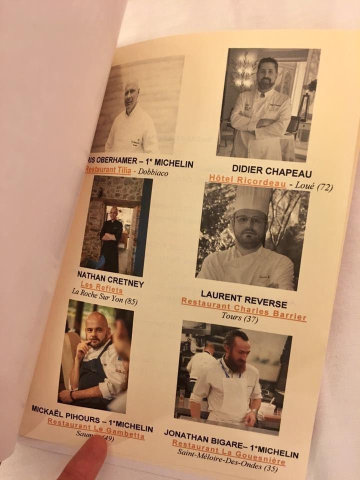 Chefs participants