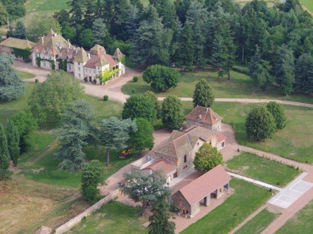 château changy Loire domaines des grands cèdres