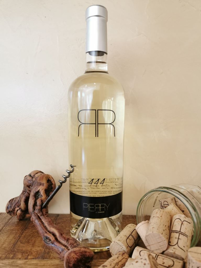 Pierry le domaine blanc 444,Vin ,Vaison la Romaine, produit frais.