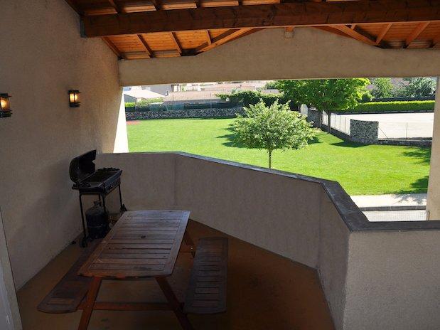 terrasse couverte La Coconniere Gite 5 personnes La Coconniere Gite 5 personnes Meysse Cruas Montelimar Ardeche pas cher