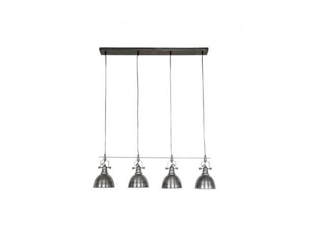 suspension style industriel 4 lumières - Merveilles et Cie