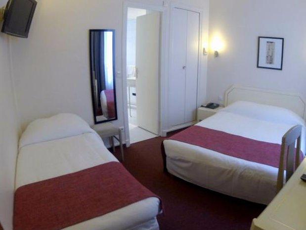 Chambre Triple Hotel Crimée Paris