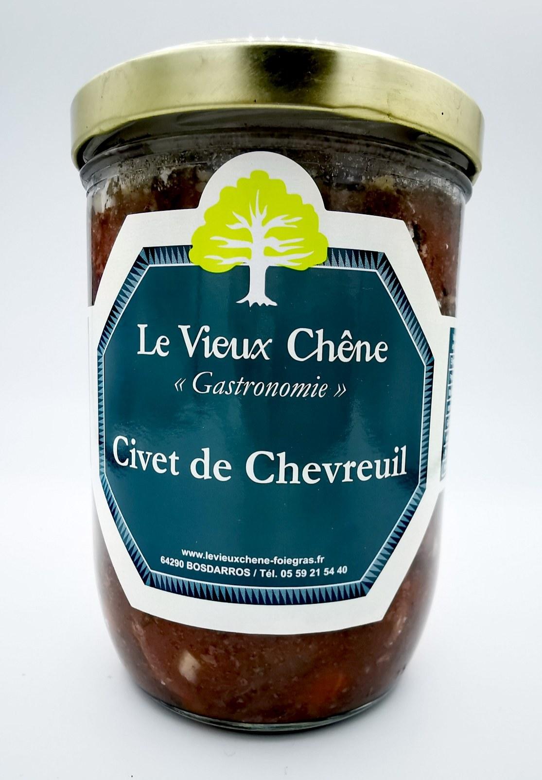 Civet de Chevreuil - Le Vieux Chêne - charcuterie - vallée d'aspe - local