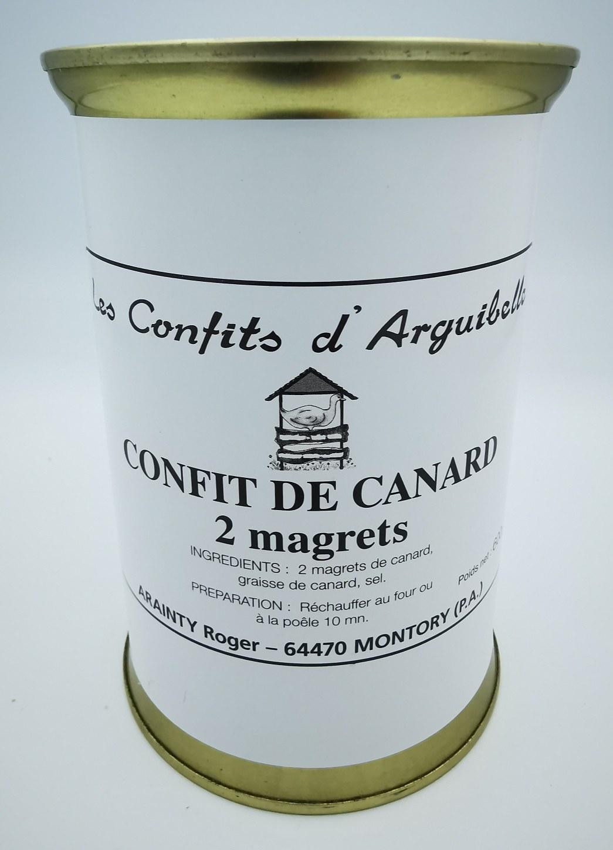Confit de Canard 2 Magrets - Les Confits d'Arguibelle - charcuterie - vallée d'aspe - local